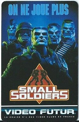 N° 66 Video Futur - Carte  Collector - Small Soldiers   -  Etat Luxe