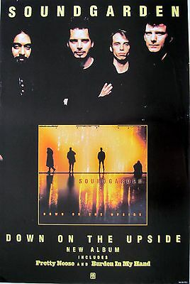 """SOUNDGARDEN """"DOWN ON THE UPSIDE"""" AUSTRALIAN PROMO POSTER - Group Above The Cover"""