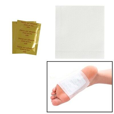 10Pair Detox Weight Loss Foot Pads Herbal Detoxification Cleansing Toxin Removal