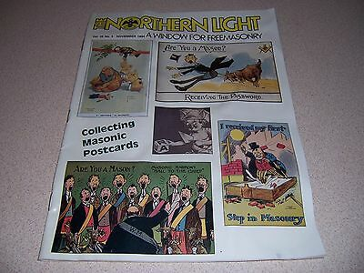 Collecting Masonic Postcards Issue - 1994 Northern Light Mason Magazine