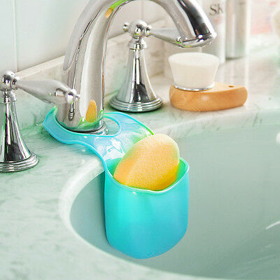 New Creative Hanging Plastic Sponge Storage Box Home Kitchen Bathroom Gadget