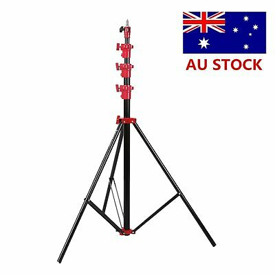 AU Stock Selens 4m 13' Air Cushioned Heavy Duty Light Stand 13.2ft SGB-4000A