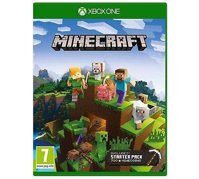 Minecraft Xbox One 1 Game includes Favorites Pack NEW & SEALED S UK PAL