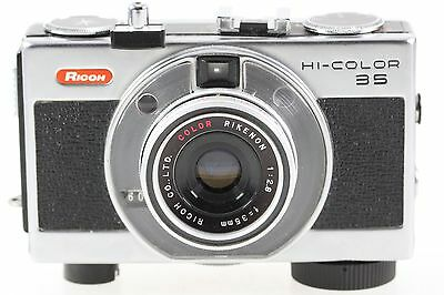 Ricoh Hi-Color 35 Miniaturkamera Kamera mit Color Rikenon 2.8 35mm 35 mm Optik