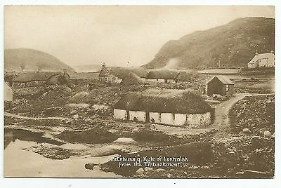 POSTCARD-SCOTLAND-KYLE OF LOCHALSH-PTD. Erbusaig from The Embankment.