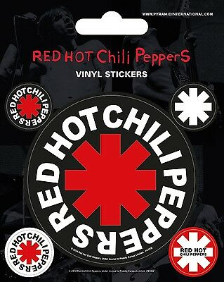 RED HOT CHILI PEPPERS - Aufkleber Vinyl Stickers