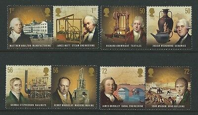 Great Britain 2009 Pioneers Of The Industrial Revolution Unmounted Mint, Mnh