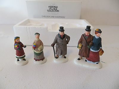 Department 56 Heritage Village Chelsea Lane Shoppers #5816-5 Accessories