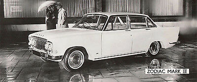 Ford Zodiac Mark 3, Period Photograph.