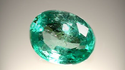 Antique 19thC 2/3ct Emerald 4,000 B.C. Babylonian Gem Market Ancient Egypt Mines