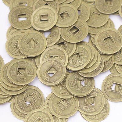 mix lot 100 pcs replica chinese Qing Dynasty coins feng shui copper alloy 204g