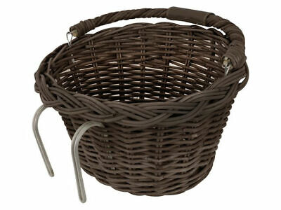 Fastrider Rattan Basket Oval With Handle Wicker Shopping Bike