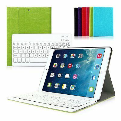 Tastiera Bluetooth Keyboard Pelle Layout Italiana per iPad Mini 1 2 3 Case