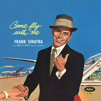 Frank Sinatra Come Fly With Me Lp Vinyl New 33Rpm