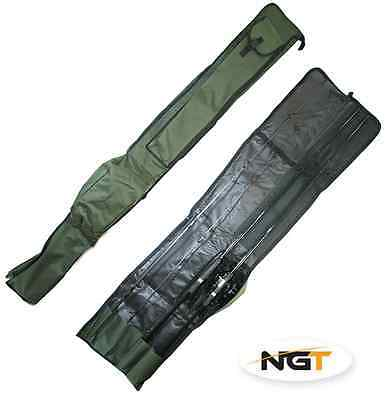 NGT Rod Holdall Bag Carp Coarse Fishing Tackle 2 + 2 ECO for 12ft Rods and Reels