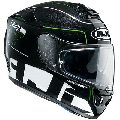 HJC RPHA ST Balmer (Green) Motorcycle Helmet ***Now Only £180.00***