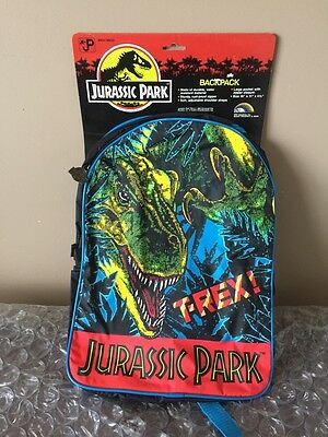 Jurassic Park MoC Backpack - T-Rex  - New Old Stock 1992
