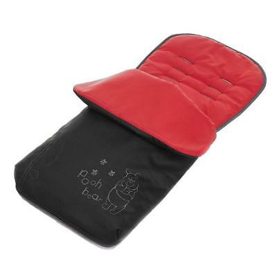 Obaby Disney Sketch Pooh Footmuff Cosytoes (Black Red) ON SALE! WAS £25