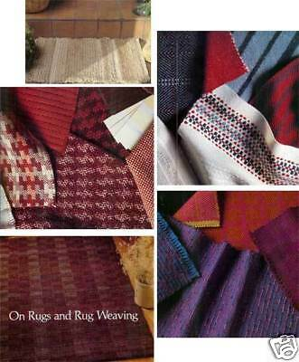 Handwoven magazine March April 1984: mats; rag rugs; lampshade