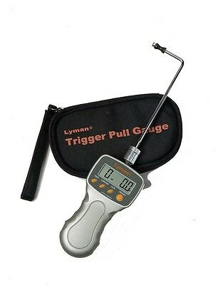 Pachmayr 7832248 Electronic Digital Trigger Pull Gauge w/ LCD Display