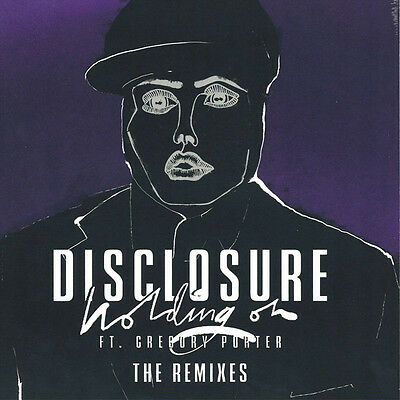 "DISCLOSURE Holding On 12"" Vinyl SINGLE New"
