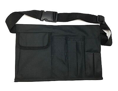 Waiter Waitress Barber Beauty School Sew Makeup Black Utility Bag Waist Holster