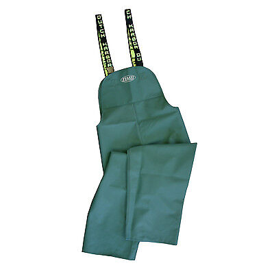 Dutch Harbor Gear HD202-GRN-L Quinault Large Green Rain Pants