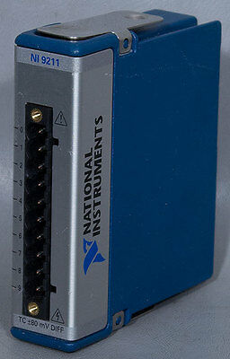 National Instruments NI 9211 Thermocouple Input Module, 4-Channel 14 S/s