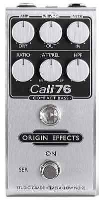 Origin Effects Cali76 Compact Bass NEW FROM DEALER W/ WARRANTY! FREE S&H IN US!