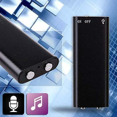 NEW Device Digital Voice Recorder Activated Long Recording Spy Hidden MP3 PS