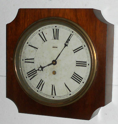 Antique Sessions Forestville Connecticut 8 Day Gallery Wall Clock Working