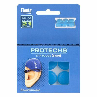Flents Protechs Silicone Ear Plugs, 0.0972 Pound