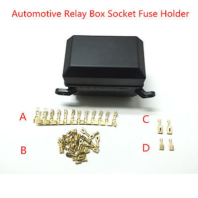 Car Fuse Box 6 Relay Relay Holder 5 Road The Insurance Autos Insurance Universal