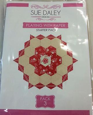 English Paper Piecing Sue Daley Playing With Paper Starter Pack #3
