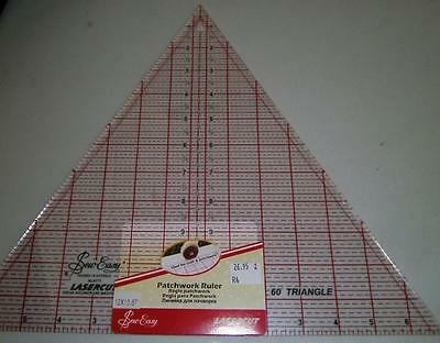 Sew Easy Triangle Quilt Ruler 60 Degrees 12""