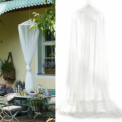 Travel Mosquito Net  Bed Canopy Single Entry Double King Canopy 12M Coverage