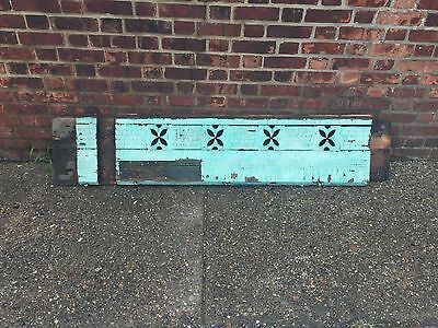 Wood Cornice Exterior Architectural Element Blue Green Mantel Corbels (2 of 3)