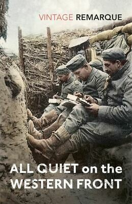 All quiet on the Western Front by Erich Maria Remarque (Paperback)