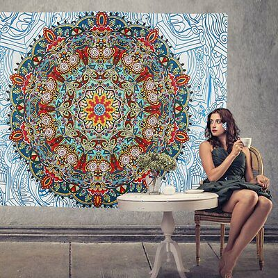 Wall Tapestry Twin Hippie Indian Hanging Mandala Bedspread Decor Throw Bohemian