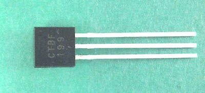BF199  + + + 10-er Pack + + +  Silizium Transistor NPN  TO-92