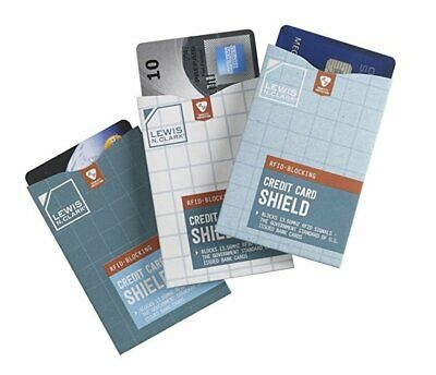 Lewis N. Clark RFID Credit Card Shield (3-Pack) #1209