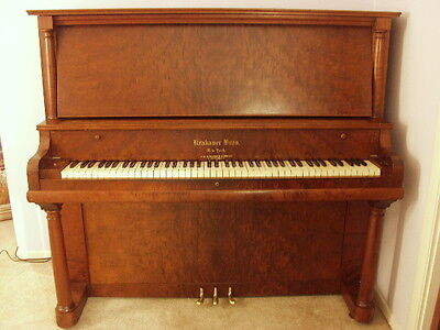 1910 Krakauer Bros. New York Upright Piano rebuilt, freshly tuned and serviced