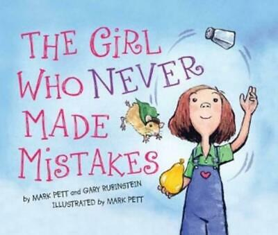 The Girl Who Never Made Mistakes by Mark Pett (English) Hardcover Book Free Ship