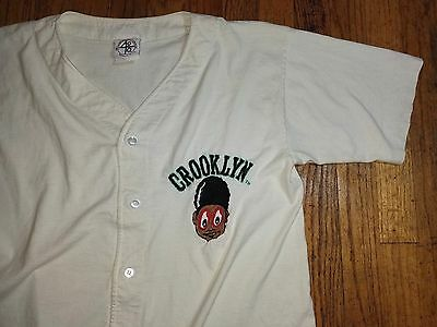 RARE Vintage 40 Acres And A Mule CROOKLYN Jersey SPIKE LEE Joint Movie