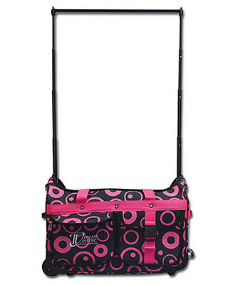 NEW DREAM DUFFELS Limited Edition Pink Bubbles DANCE BAG RACK Fit Up 10 Costumes