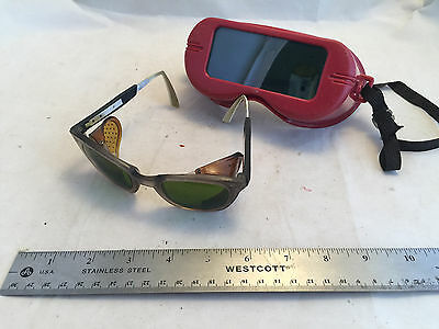 Vintage Jackson Welding Goggles Unigoggle and Sellstrom Glasses Metalworking