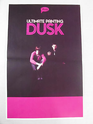 "Ultimate Painting - Dusk  * 11"" x 17"" Official Promo Poster * Rare * Limited"
