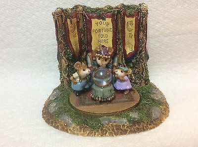 Wee Forest Folk Signed Ltd Millennium Crystal Clear Fortune Teller PLUS Display