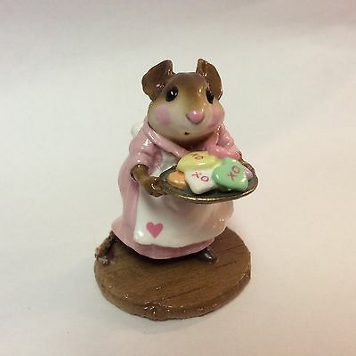 Wee Forest Folk Retired Limited Edition Valentine Sugar and Spice