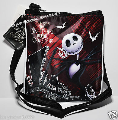 Nightmare Before Christmas Purse Bag Crossbody Girls Shoulder Tote Gift Jack Nwt